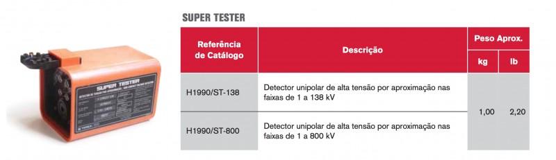 Detectores de tensão
