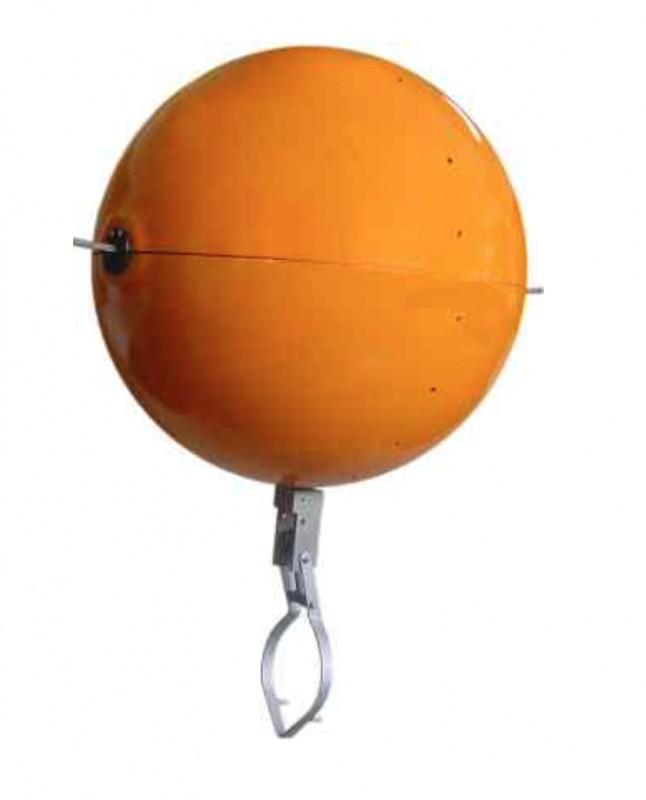 Esfera de sinalização com corda