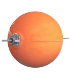Esfera de sinalização para linha de transmissão