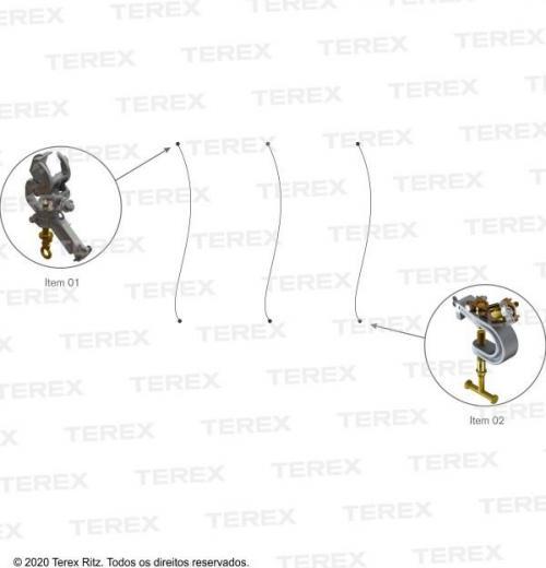 Conjunto De Aterramento Temporário Para Linhas De Transmissão (at) (estrutura Metálica) - Atr17442-1