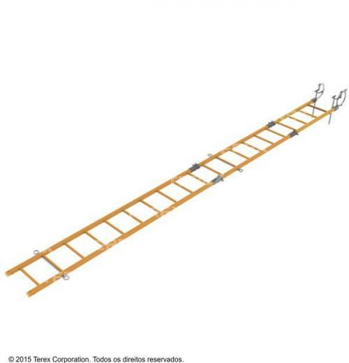 Escada Seccionável Com Gancho