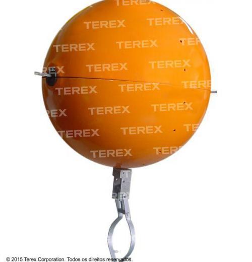 Esfera Para Instalação Por Corda
