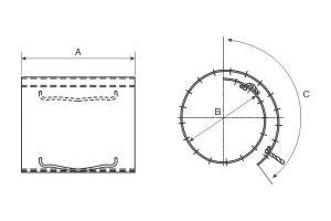 Cobertura Circular
